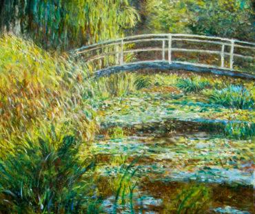 Lo stagno delle Nifee – Monet